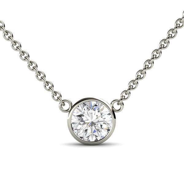 Bezel Diamond Solitaire