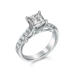princess engagement ring in houston