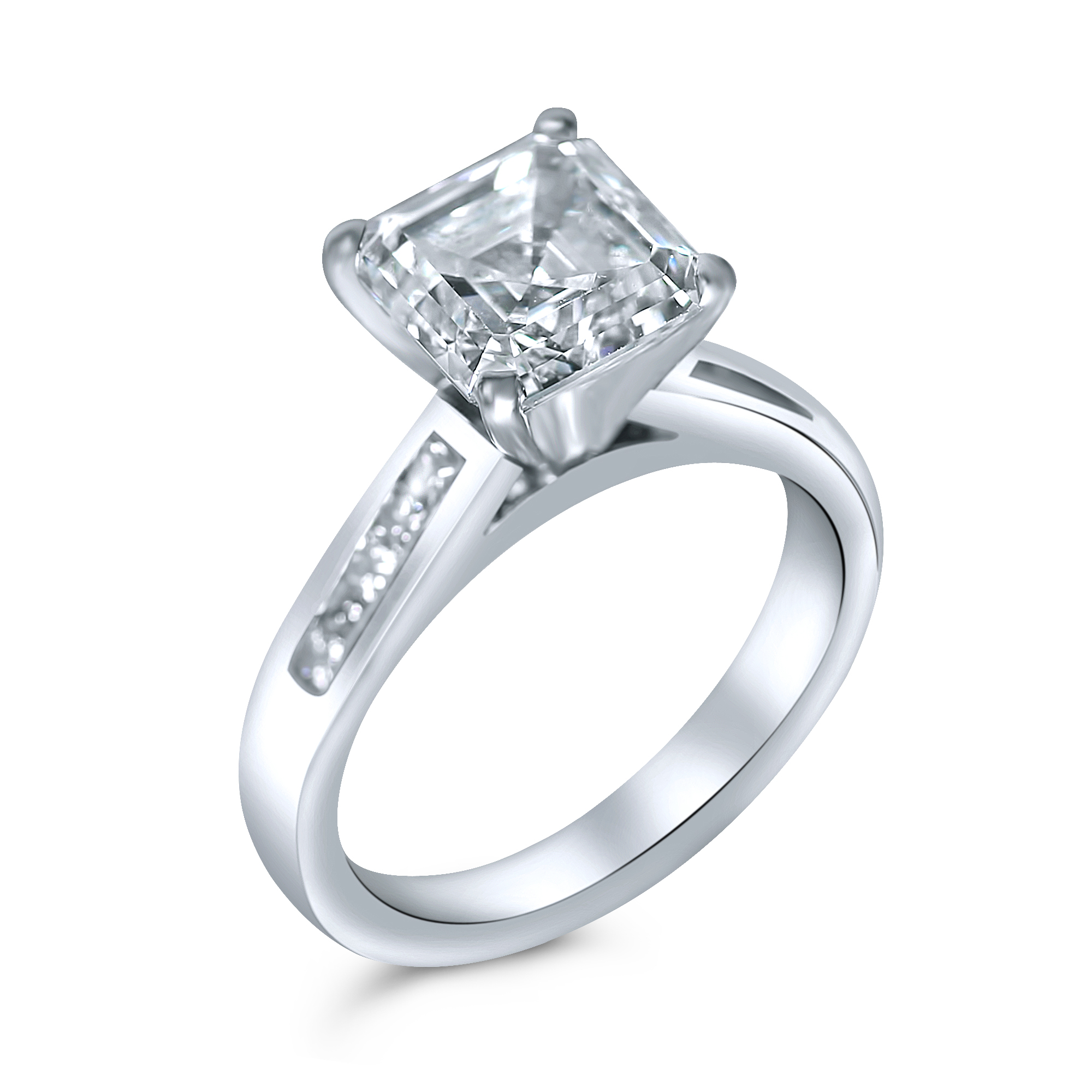 collection pin bridal romance ring rings cushion halo engagement diamond small outlet