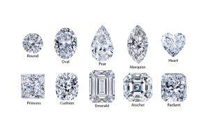 shapes diamonds houston